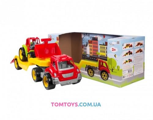 Игрушка Автовоз с трактором ТехноК 3916