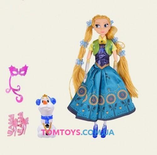 Кукла фрозен Анна музыкальна светящаяся 2161B