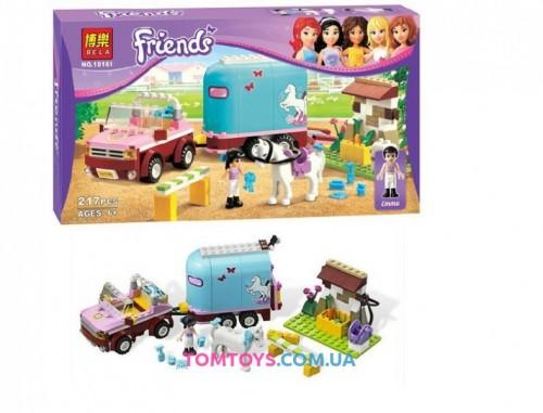Конструктор Bela Friends Эмма и трейлер для лошадки 10161