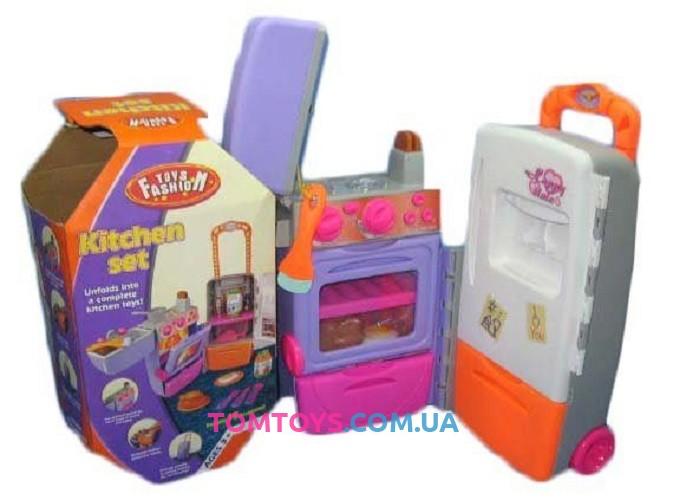 Игровой набор Кухня чемодан 9911