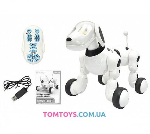 Интерактивная игрушка робот собака 619
