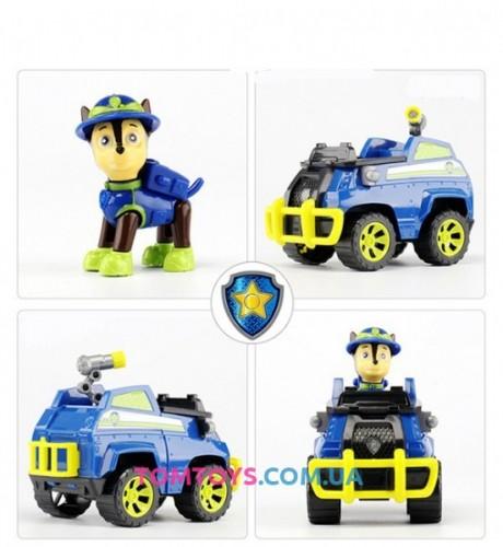 Щенячий патруль Джунгли Гонщик на полицейской машине LQ2040A