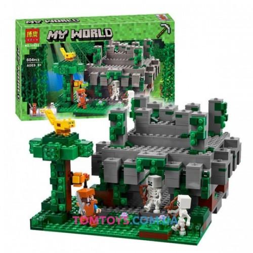Конструктор Bela Minecraft аналог Lego Minecraft 21132 Храм в джунглях 10623