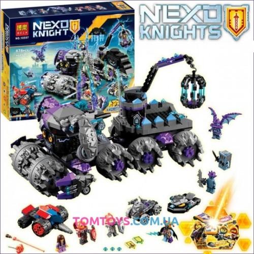 Конструктор Bela Nexo Knight аналог Lego 70352 Штаб Джестро 10597
