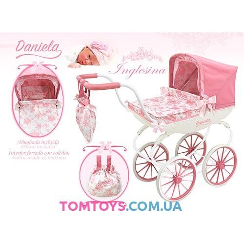 Коляска классическая для куклы Даниэла DeCuevas 87021