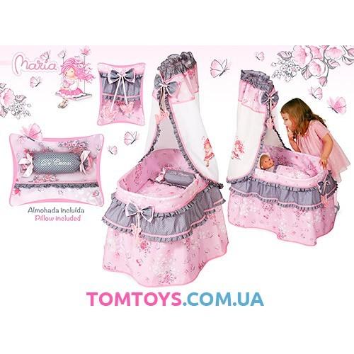 Кроватка с балдахином Романтик DeCuevas 51017