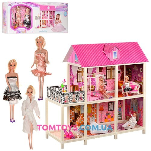 Домик с мебелью для кукол 66884