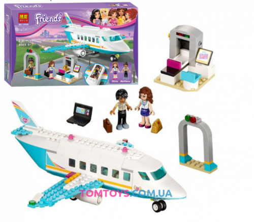 Конструктор Bela Friends аналог LEGO Friends 41100 Частный самолет 10545