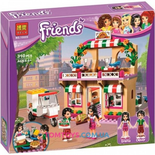 Конструктор Bela Friends аналог Lego Friends 41311 Пиццерия 10609