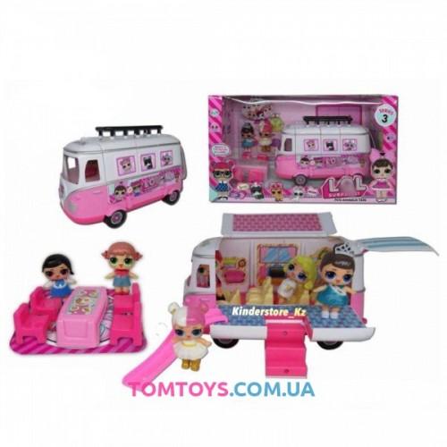 Игровой набор автобус для кукол L.O.L