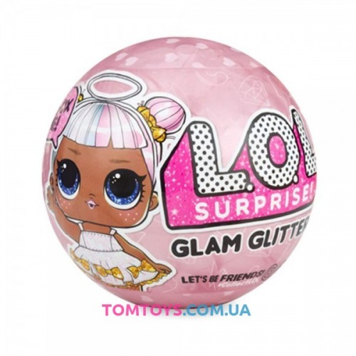 Кукла ЛОЛ Глэм Глиттер L.O.L Glam Glitter