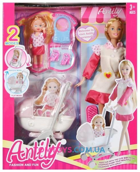Игровой набор кукла с коляской 99116