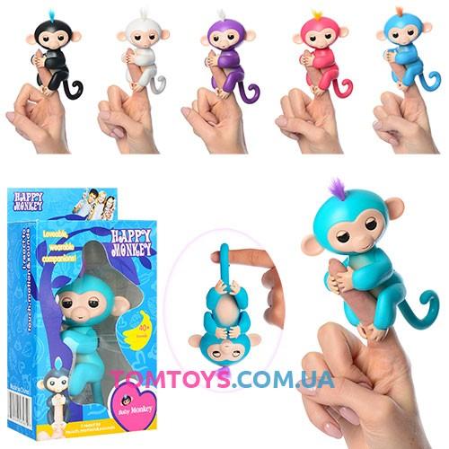 Интерактивные обезьянки Fingerlings 801