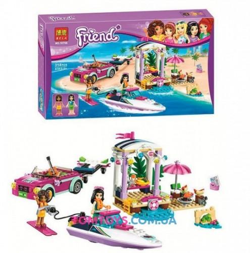 Конструктор Bela Френдс аналог LEGO Friends 41316 Скоростной Катер Андреа 10758