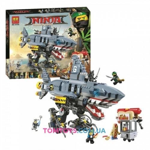 Конструктор Ninjago Movie Bela аналог Lego 70656 Морской дьявол Гармадона 10799