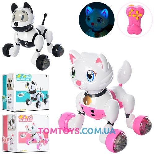Интерактивное кошка робот Smart Pet MG013-14