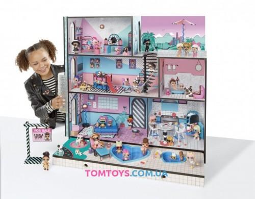 Дом для кукол + 85 сюрпризов L.O.L Surprise House with 85 + Surprises