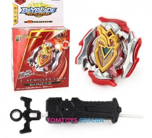 Волчок BEYBLADE Zachilles Бейблейд Ахиллес с пусковым устройством B-105