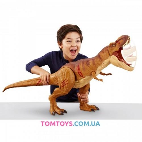 Мир Юрского Периода 2 Тираннозавр Jurassic World Super Colossal Tyrannosaurus Rex Figure