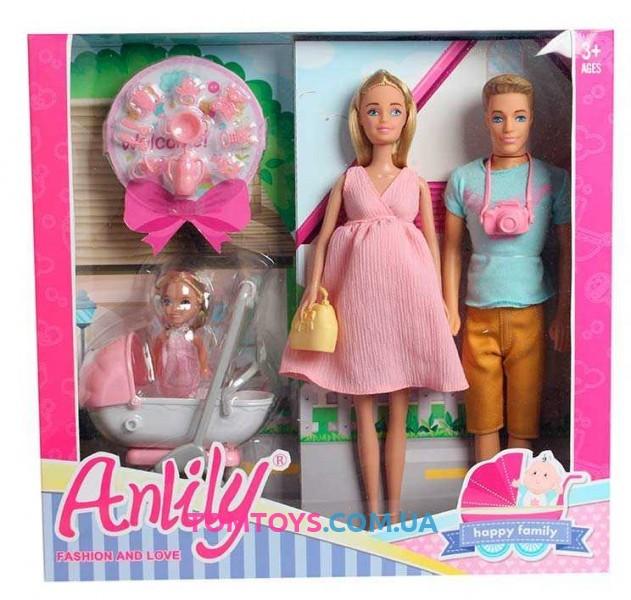 Набор кукол Счастливая семья Anlily 99227