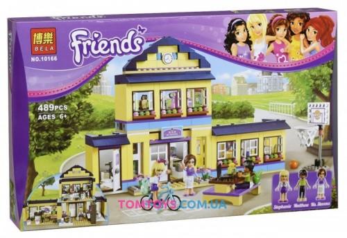 Конструктор Bela Friends Сити аналог Lego 41005 Школа Хартлейк 10166