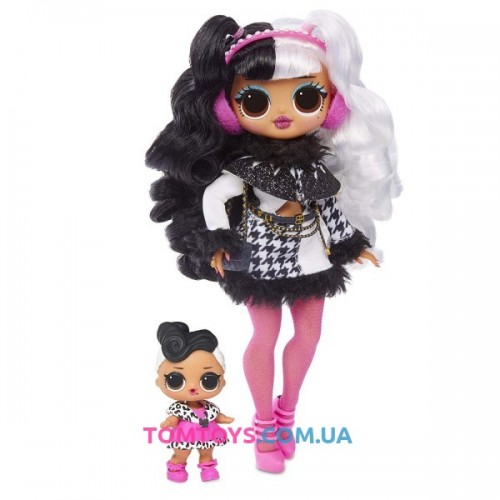 Набор с куклой L.O.L. Surprise O.M.G. Winter Disco Dollie 2 волна