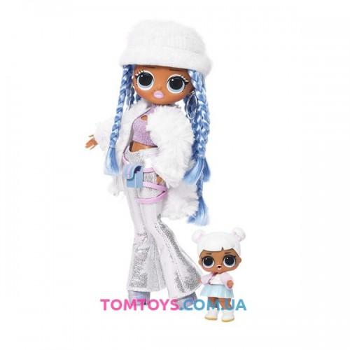 Набор с куклой L.O.L. Surprise O.M.G. Winter Disco Snowlicious 2 волна