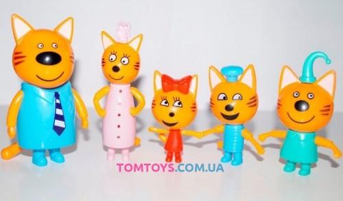 Набор фигурок Три кота N72