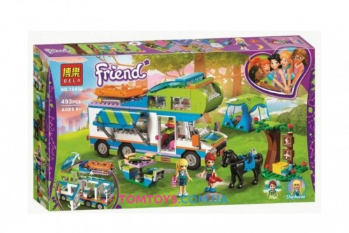 Конструктор Bela Friends аналог Lego Friends  Дом на колёсах 10858