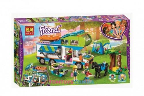 Конструктор Bela Friends аналог Lego Friends 41339 Дом на колёсах 10858