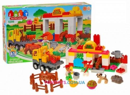 Конструктор JDLT  Ферма аналог Lego Duplo 5206