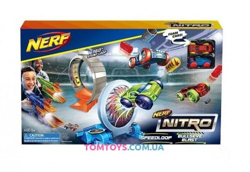 Трек Бластер Nerf Nitro Speed loop bullseye blast 7715