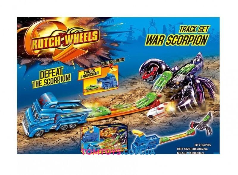 Трек Боевой скорпион аналог Hot Wheels World War Scorpion S 8903