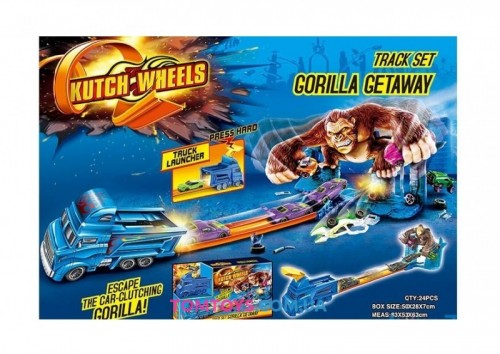 Автотрек Побег от Горилы аналог Hot Wheels Gorilla Getaway S 8904