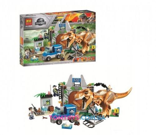Конструктор Bela Побег Ти-Рекса Аналог Lego Juniors Jurassic World 10920