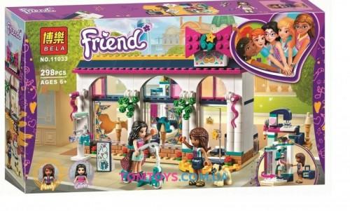 Конструктор Bela Friend Магазин аксессуаров Андреа аналог Lego Friends 11033