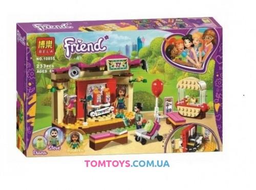 Конструктор Bela  Friend Выступления Андреа в парке аналог Lego Friends 10855