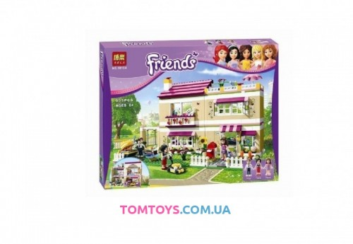 Конструктор Bela Friend Дом Оливии аналог Lego Friends 10164