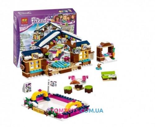 Конструктор Bela Friend Горнолыжный курорт. Каток аналог LEGO Friends 10730