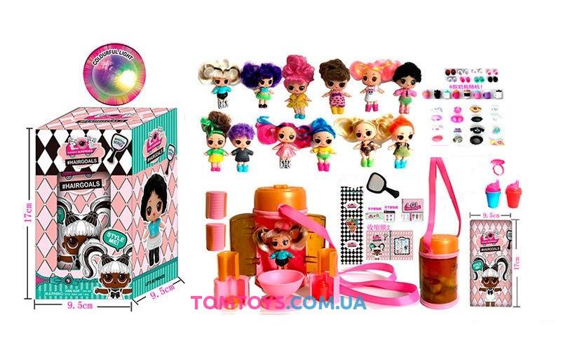 Кукла сюрприз L.O.L Surprise Hairgoals 5 сезон 33320