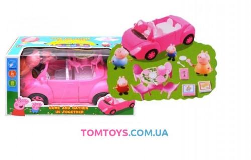 Игровой набор машинка Свинка Пеппа Peppa Pig YM11-803