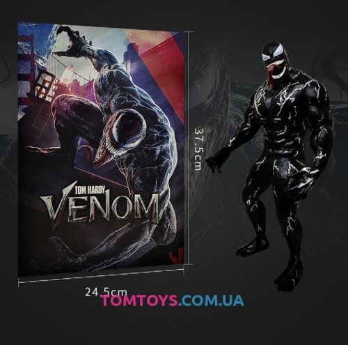 Коллекционная фигурка Веном Том Харди -VENOM TOM HARDY Marvel 3339
