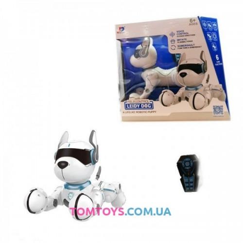Интерактивная игрушка робот собака на радиоуправление A001