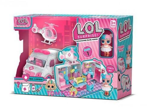 Игровой набор Скорая помощь L.O.L Surpries QL 049-1
