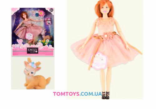 Кукла Emily Рыженькая QJ087D