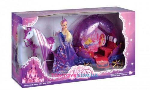 Карета с лошадью и куклой 237 А