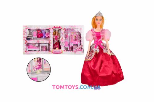 Набор мебели для кукол с куклой 6955-A