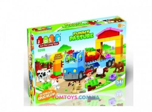 Конструктор JDLT Ферма аналог Lego Duplo 5208