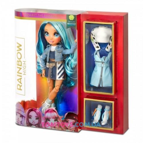 Кукла Rainbow High Скайлар с аксессуарами 569633