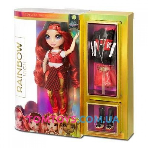 Кукла Rainbow high Руби Anderson с аксессуарами 569619
